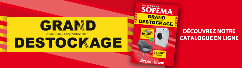 Catalogue Destockage ATLAS-GITEM