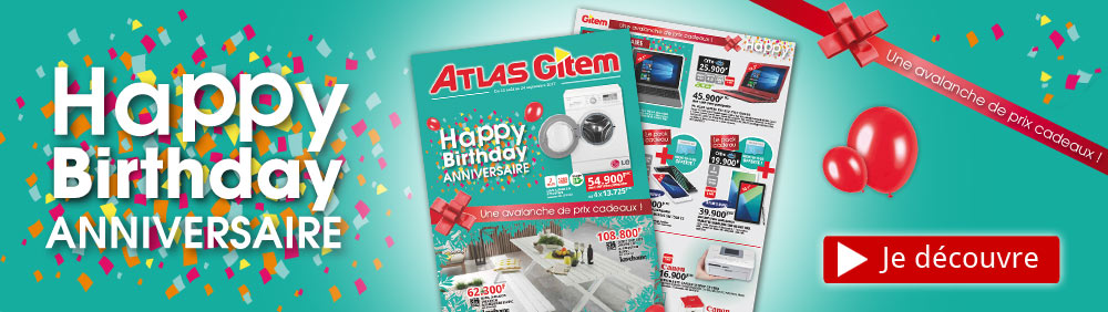 Catalogue Anniversaire Gitem-Atlas 2017